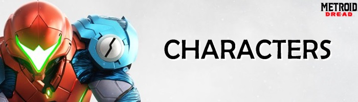 Metroid Dread - Characters Banner