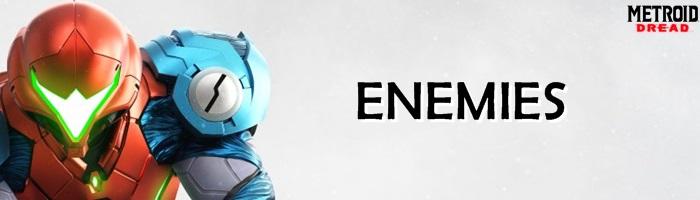 Metroid Dread - Enemies Banner