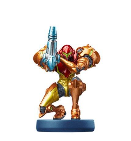 Metroid Dread - Metroid Amiibo Figure Samus Aran