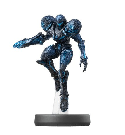 Metroid Dread - Super Smash Bros. Amiibo Figure Dark Samus