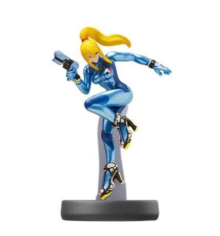 Metroid Dread - Super Smash Bros. Amiibo Figure Zero Suit Samus