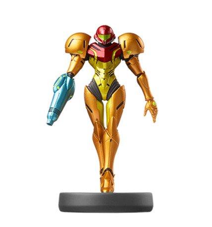 Metroid Dread - Super Smash Bros. Amiibo Figure Samus
