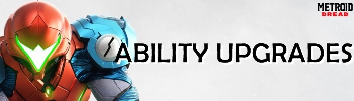 Metroid Dread - Ability Upgrades Banner
