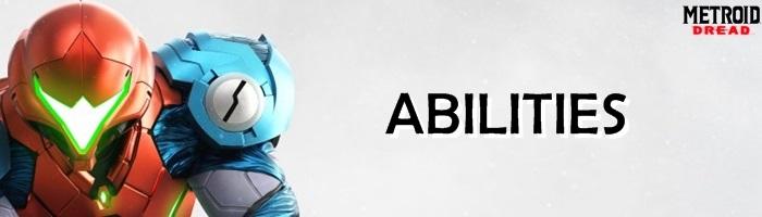 Metroid Dread - Abilities Banner