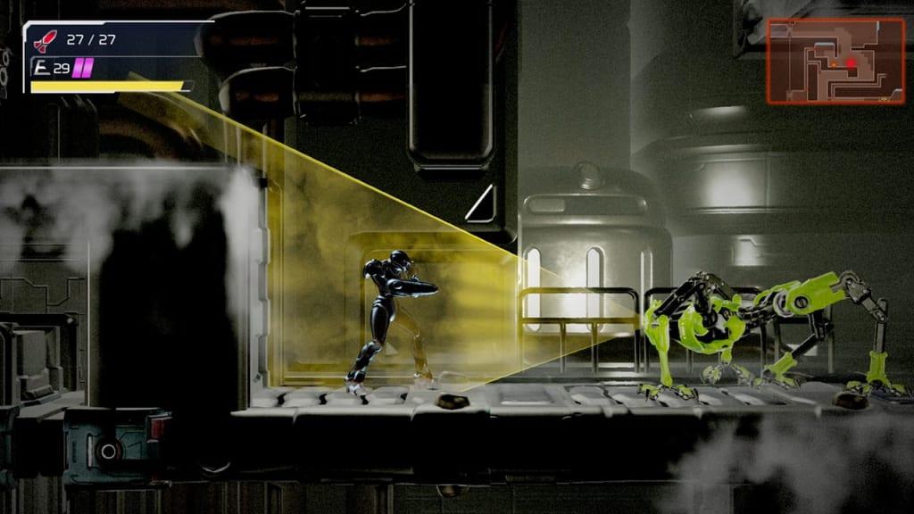 Metroid Dread - Phantom Cloak